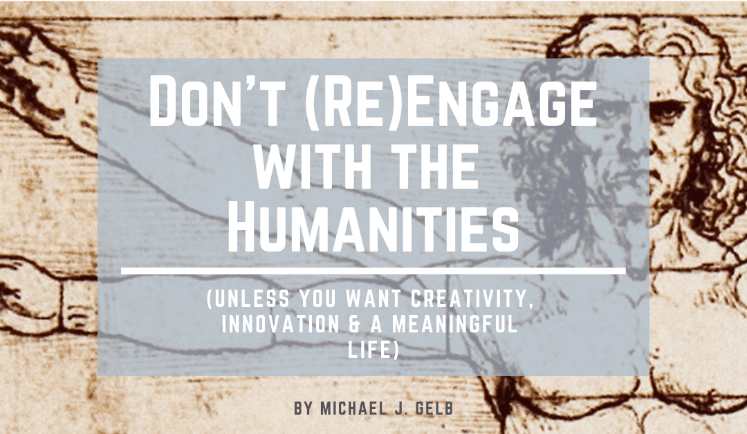 Don't (re)engage with the humanities